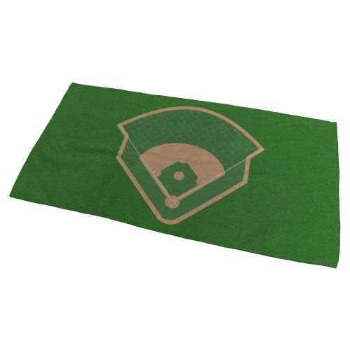 Baseball Field Bath Towel - Small